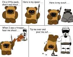 ewok song by JessButton