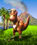 Little Hearts T-Rex by joereimer