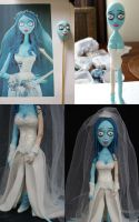 Corpse Bride Step-by-step by Verusca