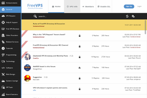 FreeVPS Redesigned: A Mockup by georgedoesdesign
