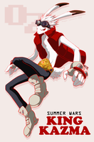 KING KAZMA by Majime