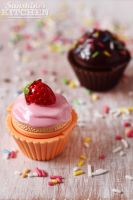Cupcake lip balm by kupenska