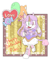 .:B-day gift:. Yume the cat by Pandalana