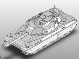 Warhawk MBT by Quesocito