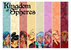 Kingdom of Spheres banners by samycat
