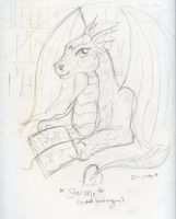 Daily Sketch - Dragon Day by Starrydance