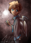 Boy with Wings by urbangirl98