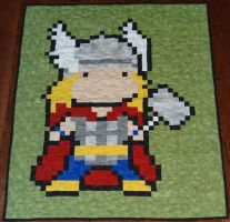 Thor Quilt by quiltoni
