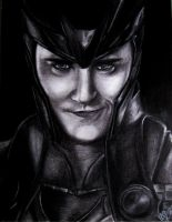 The God of Mischief by gfuentesart