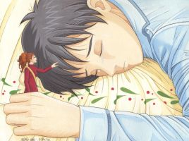 Sho aka Shawn and Arrietty by Yamigirl21