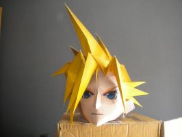 Ff7 Cloud Head (download) by stephane57