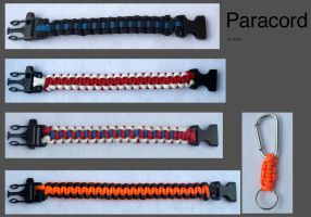 Paracord bracelet lot by axemnas