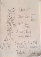 Shift-A Monsters University inspired character by GToons-Inc