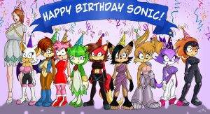 Sonic Birthday Brainwash by Trishbot