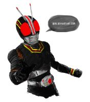 quick sketch kamen rider black by qins