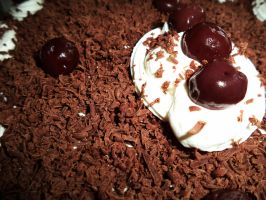 Black Forrest Cake by theWitchofGrich