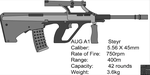 Steyr AUG A1 by cashel111