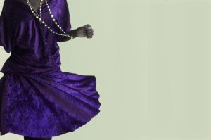 Purple Velvet Dress by zeemenace
