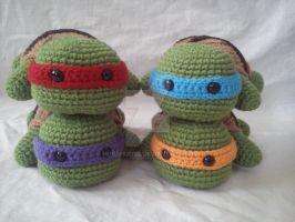 Baby TMNT by Horshi2003