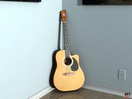 My Acoustic Guitar by ART-havoc