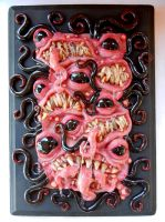 Monster wall plaque revisited by dogzillalives