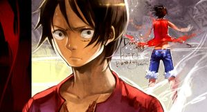 Happy birthday my dear LUFFY by junefeier