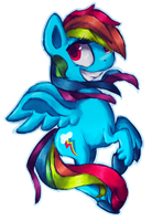 offensivly rainbow by Paintrolleire