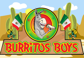 Burritos Boys Wallpaper by Neurostick