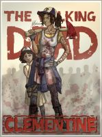 Clementine, The Walking Dead (All Grown Up) 1. by handraw