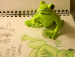 026-052 A little green froggy 2 by sweetmarly