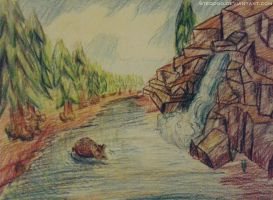 The river by Steodoo