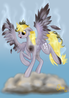 Commission: Derpy by tasertail