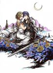 Fire Emblem Chrom + Serenity OC Commission Color by anireal