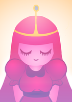 Princess Bubblegum by norrling