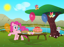 Pinkie Pie's Picnic Party by WildAnime