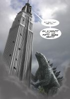 King Kong vs Godzilla II by LDN-RDNT