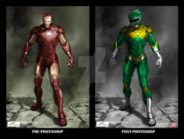 Iron [Green] Ranger comparison by thesometimers