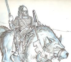 Viking-Warg by JoshSkaarup