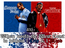 Snoop and The Game by a2designs