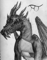 Dragon With Horns by Ryanlj