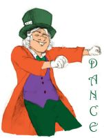 Dancing Hatter by MjOboe by crazysweety
