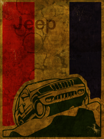 jeep distressed by istarlome
