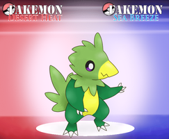 Pterodactyl Fakemon by someguy12345678910