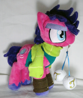 Joseph Joestar Pony Plush by Cryptic-Enigma