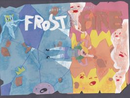Adventure Time Frost and Fire by cartoonist66