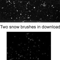 Snow Brushes by BrokenFeline-Stock