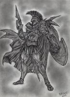 Ares - God of War by Bill-Con
