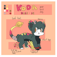 Koda reference sheet by Bienoo