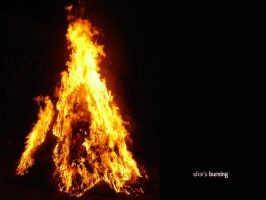 Xfce's Burning by h0p3-hell