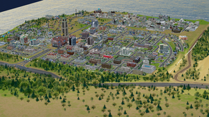 First attempt at SimCity by Champineography